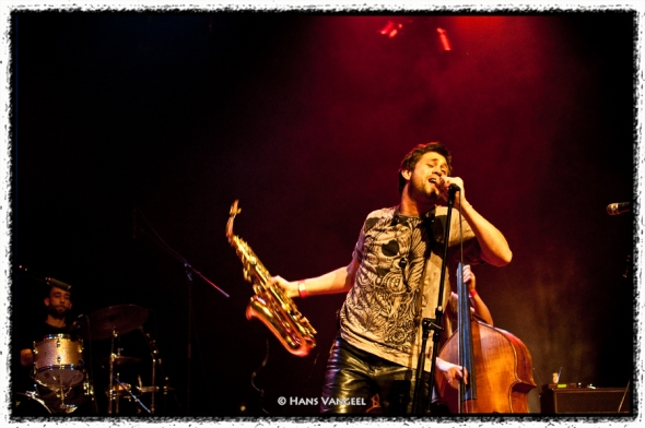 Alejandro Toledo and the Magical Tombiolinos at de Roma, Antwerp