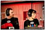 Music For Life 2010: Tomas, Sofie en Sam in het glazen huis op de Groenplaats