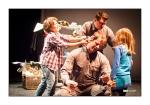 Meespeeltheater Knip - Boer Bruno melkt