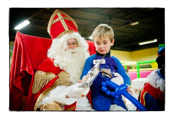 Sinterklaas had voor iedereen een cadeau